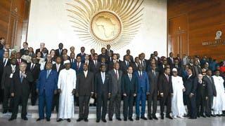 القادة الأفارقة خلال القمة الأفريقية الـ32