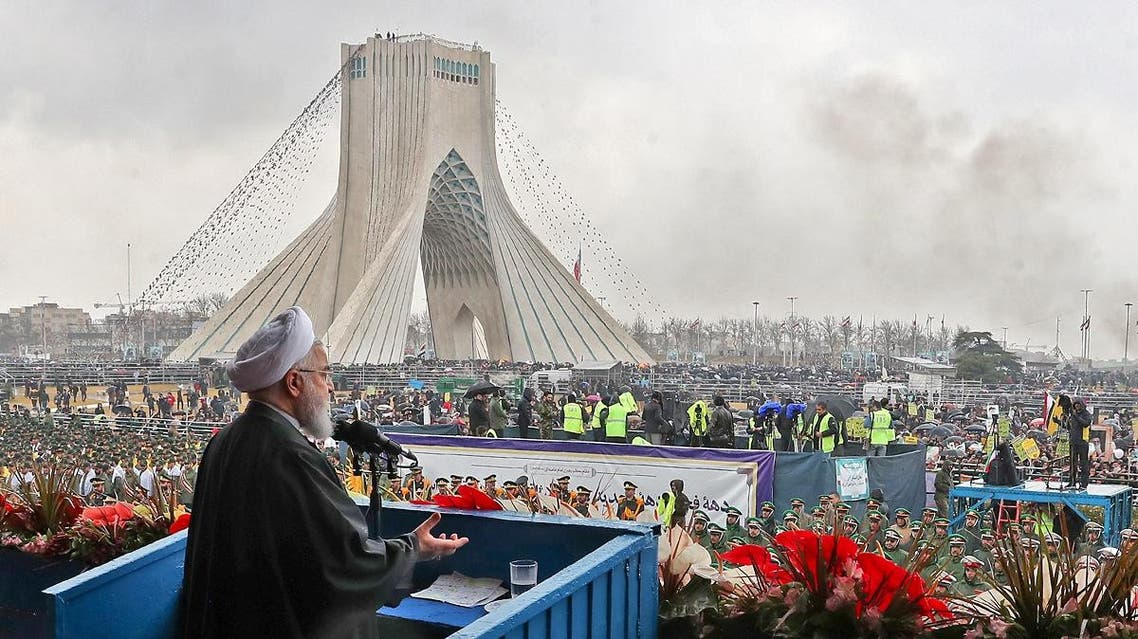 Iran Rouhani 40 anniversary Islamic Revolution 4 (AFP)