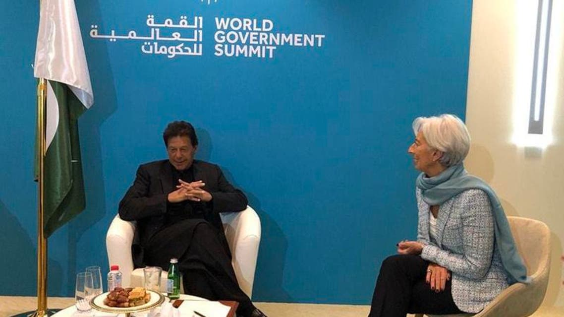 Imran Khan With IMF Chief