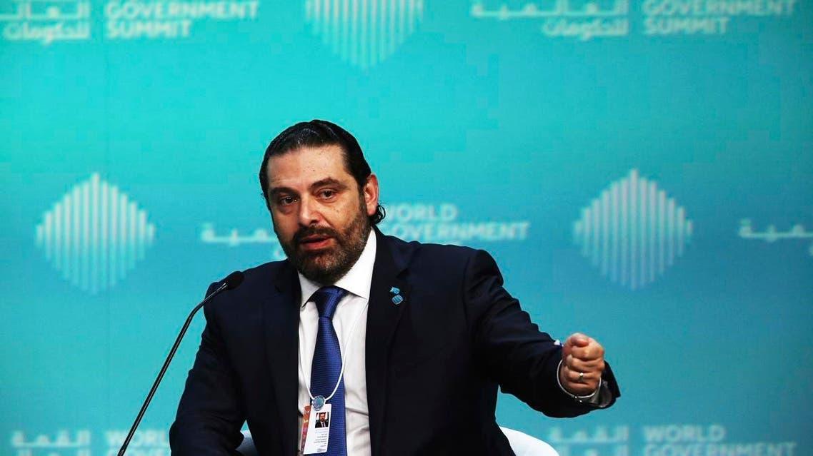 Prime Minister Saad Hariri Dubai (AP)