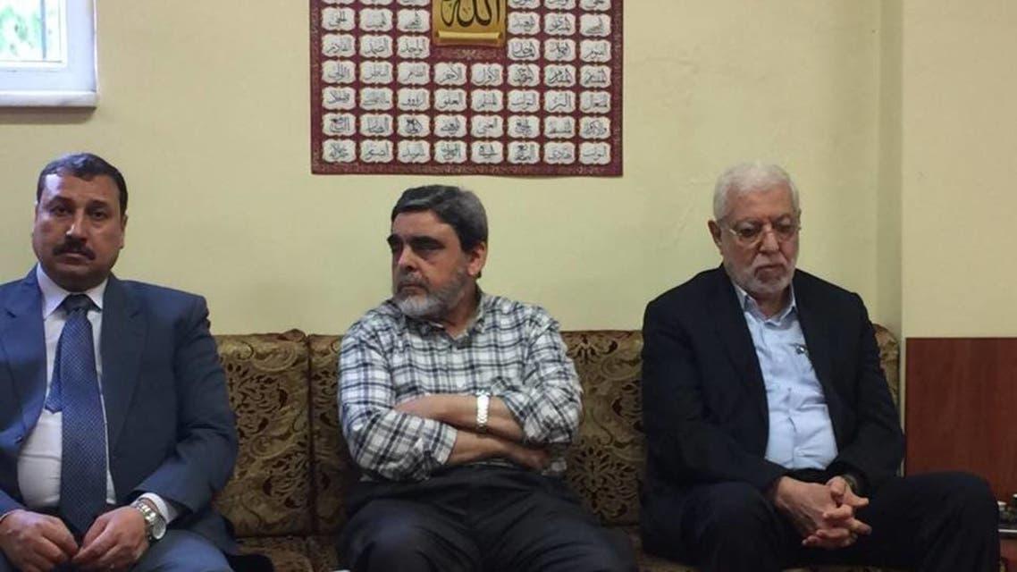 دي صورة مجمعة لقادة الإخوان في تركيا محمود حسين ومدحت الحداد ومختار العشري