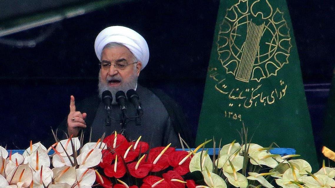 Iran Rouhani 40 anniversary Islamic Revolution 2 (AFP)