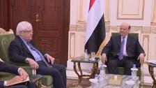 یمنی صدر کی مارٹن گریفتھس سے ملاقات، الحدیدہ معاہدے کے نفاذ پر زور