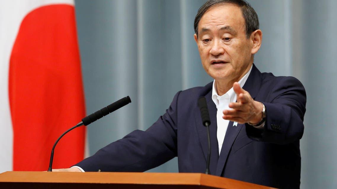 كبير أمناء مجلس الوزراء الياباني يوشيهيدي سوجا