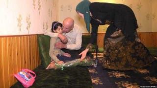 طفلة طاجيكية تم استعادتها من العراق