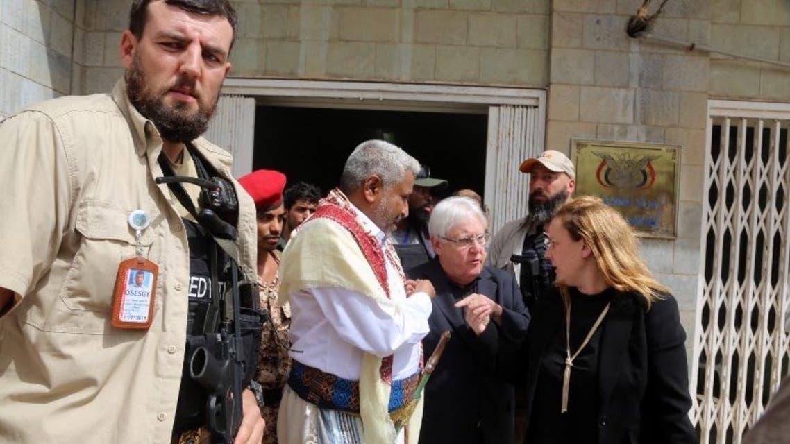 غريفثس في صنعاء (11 فبراير - فرانس برس)