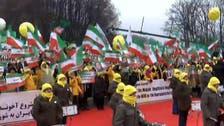اپوزیشن کا 'وارسا' کانفرنس کے باہرایرانی رجیم کے خلاف مظاہرہ