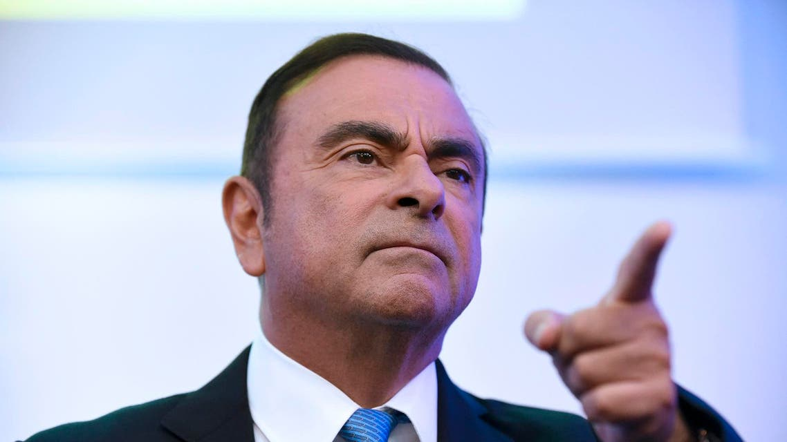 Carlos Ghosn said on Wednesday that shaking up his legal team was the beginning of the process of establishing his innocence. (AFP)