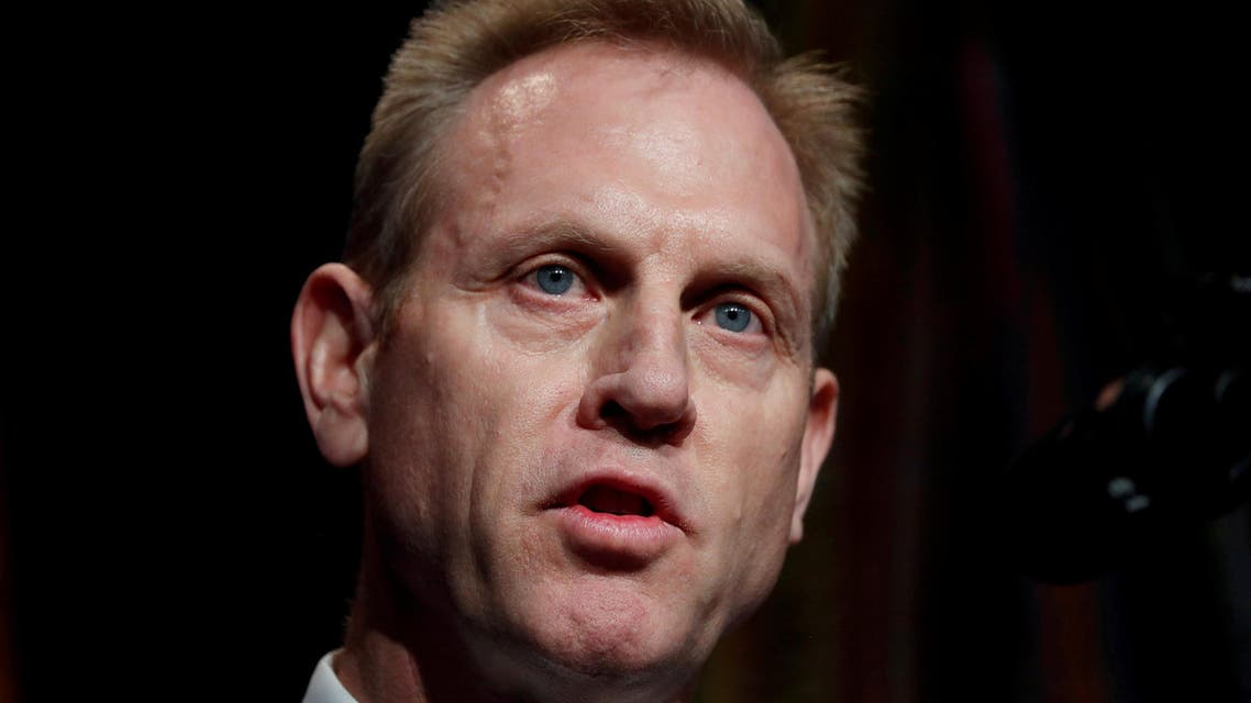 FILE PHOTO: Acting U.S. Secretary of Defense Patrick Shanahan speaks during the Missile Defense Review announcement at the Pentagon in Arlington, Virginia, U.S., January 17, 2019. REUTERS/Kevin Lamarque//File Photo