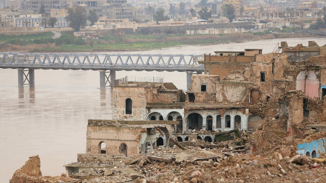 Destroyed buildings are seen in the Old City of Mosul, Iraq January 29, 2019. Picture taken January 29, 2019. REUTERS/Ari Jalal