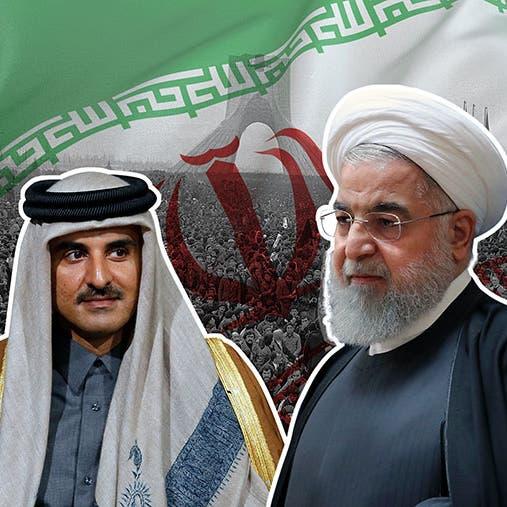 تفاصيل علاقات قطر وإيران بعد 40 عاما على ثورة الخميني