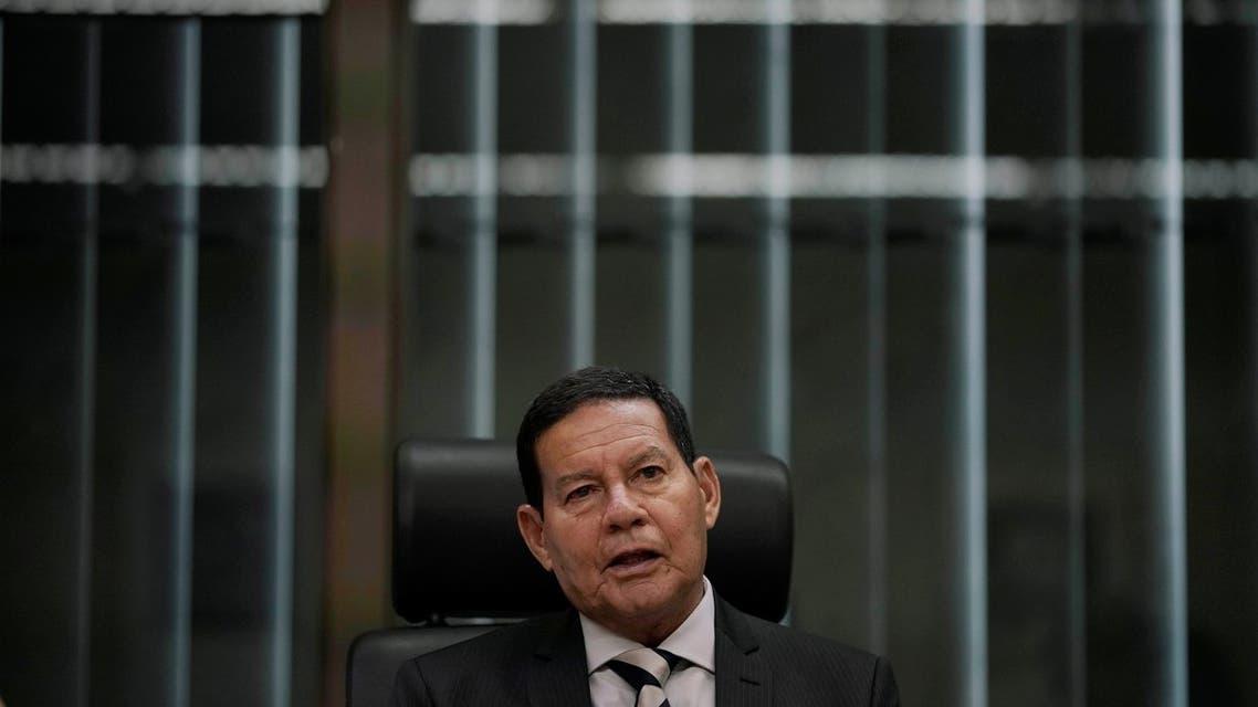 آميلتون مورو نائب الرئيس البرازيلي