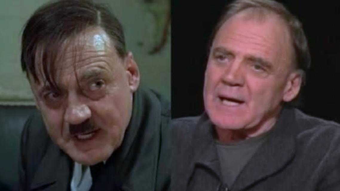 الممثل غانز، ودوره الهتلري في فيلم السقوط