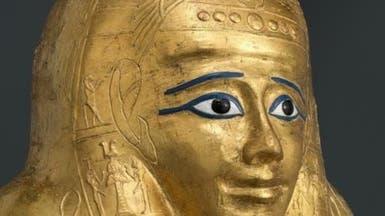 مصر تستعيد تابوتاً أثرياً مذهباً تم تهريبه لأميركا