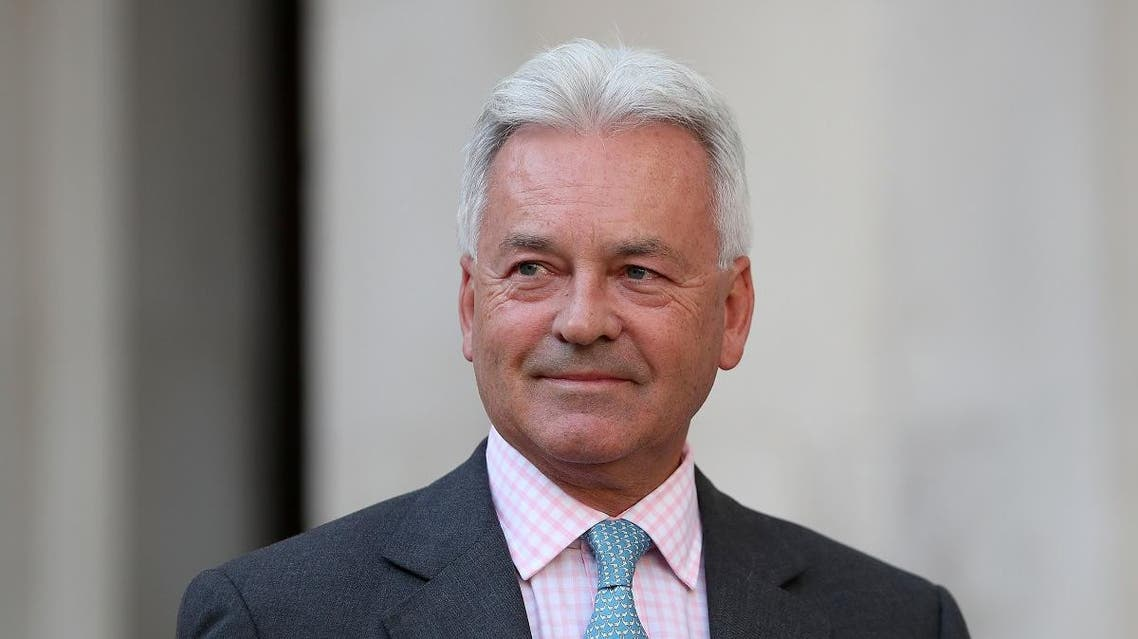 Britain's junior Foreign Minister Alan Duncan arrives to speak to members of the media outside the Foreign and Commonwealth Office (FCO) in central London. (File photo: AFP)