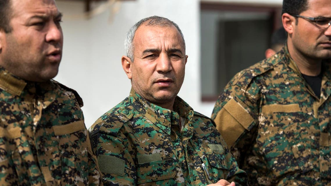 Jia Furat said Saturday ISIS extremists in eastern Syria are trapped in an area of half a square kilometer. (AFP)