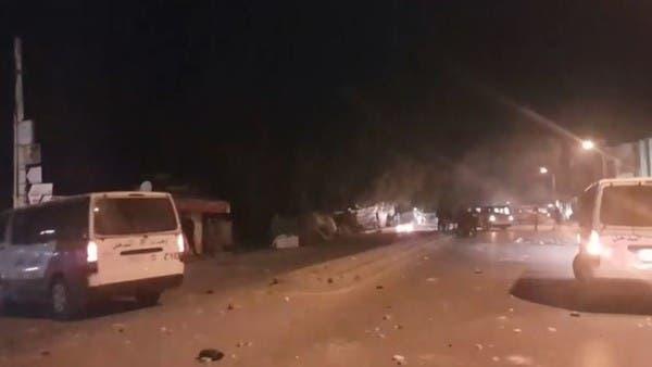 مواجهات بين محتجين والشرطة بتونس بعد وفاة شاب بمركز أمن