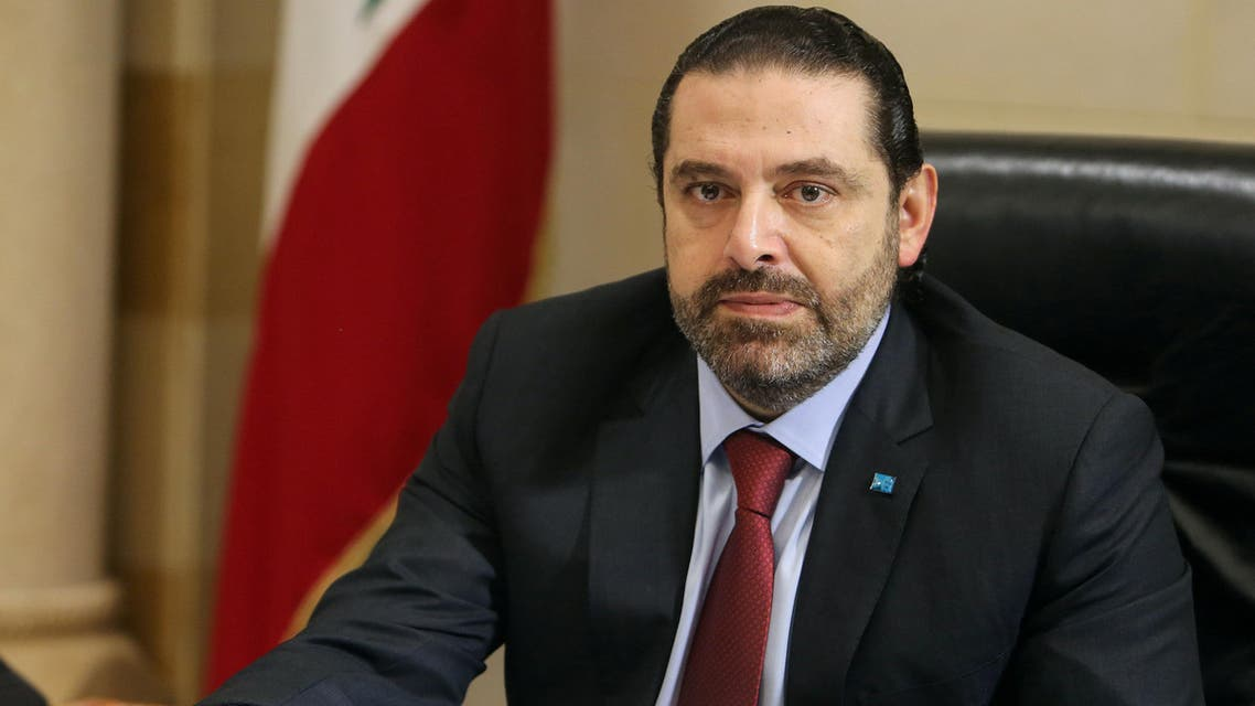 FILE PHOTO: Lebanese Prime Minister Saad al-HarirI is seen at a meeting in the governmental palace in Beirut, Lebanon, February 6, 2019. REUTERS/Aziz Taher/File Photo