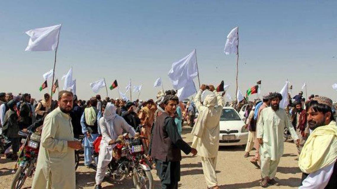 گورستان مشترک سربازان افغان و طالبان در خوست افغانستان