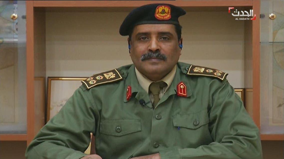 THUMBNAIL_ المسماري: الجيش الوطني سينتشر على كامل حدود ليبيا بعد الانتهاء من تأمين  اوباري