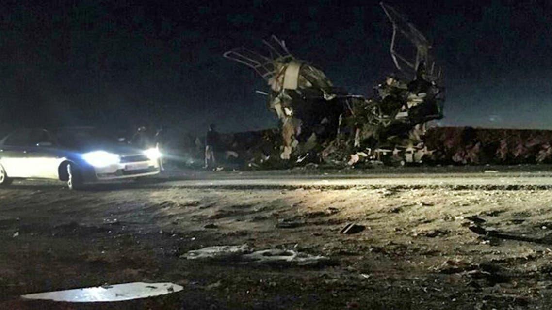 Iran suicide bombing (AFP)