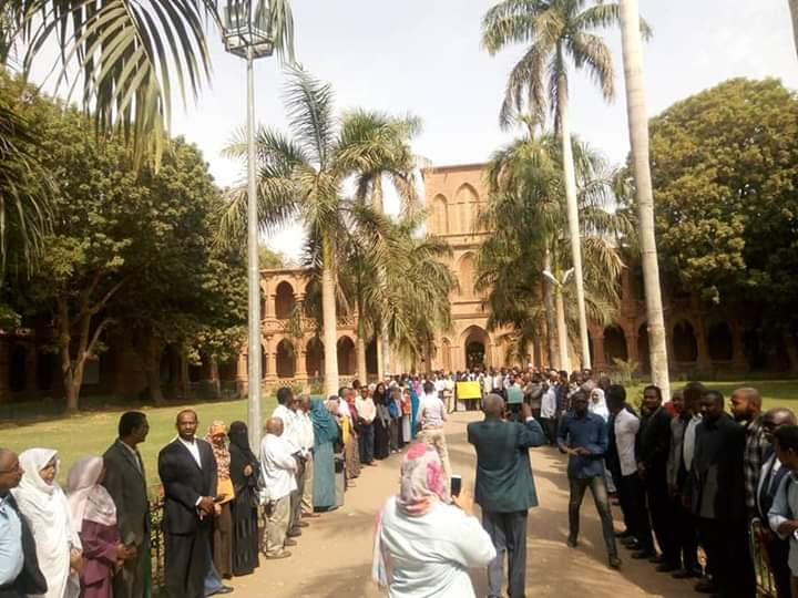 من احتجاجات السودان