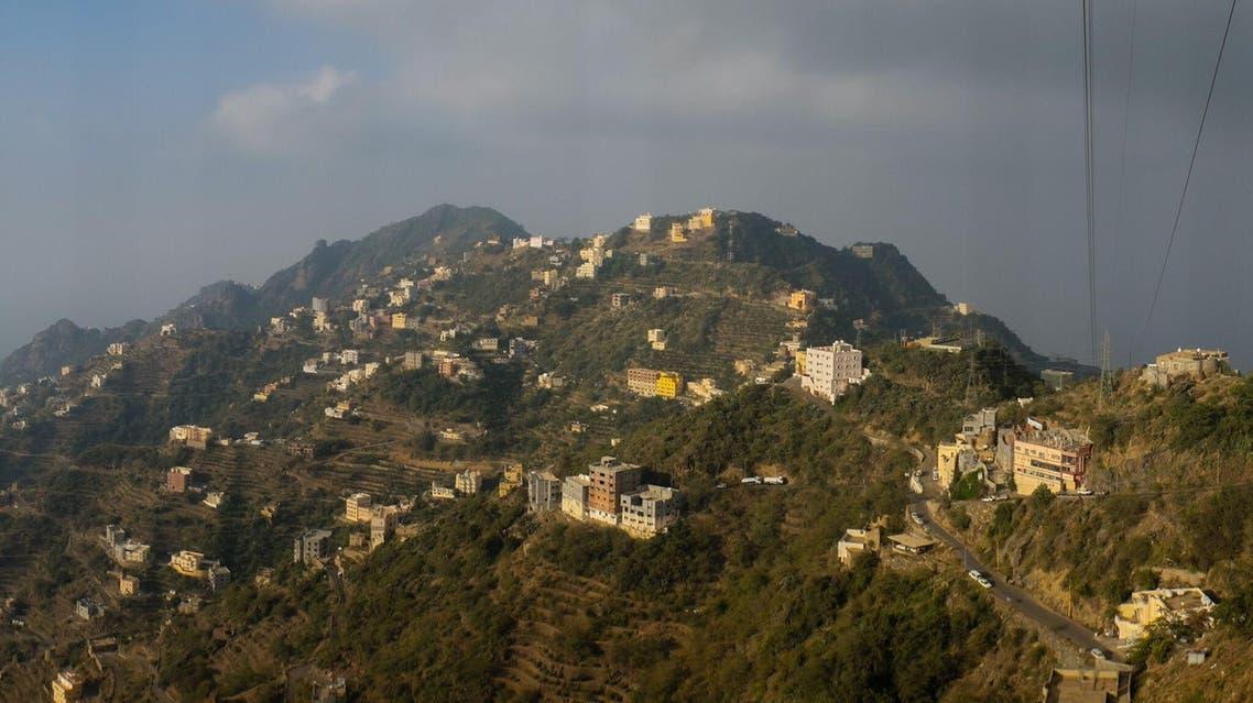 Homes and businesses atop Faifa Mountain, (Andrew Leber)