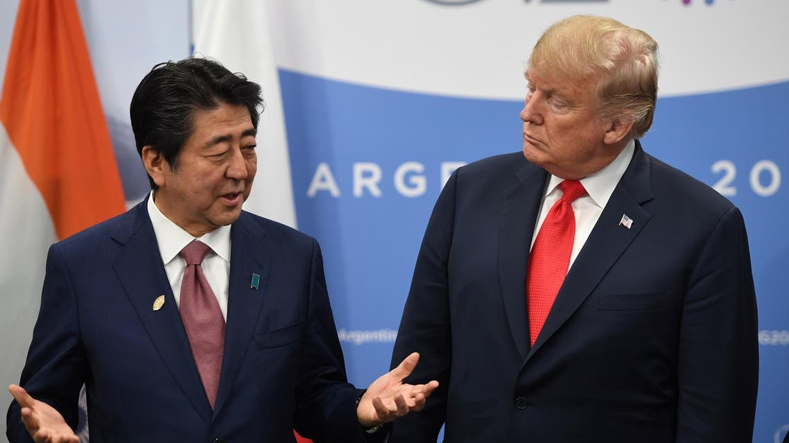 Japan's Prime Minister Shinzo Abe nominated US President Donald Trump for the Nobel Peace Prize last autumn. (File photo: AFP)
