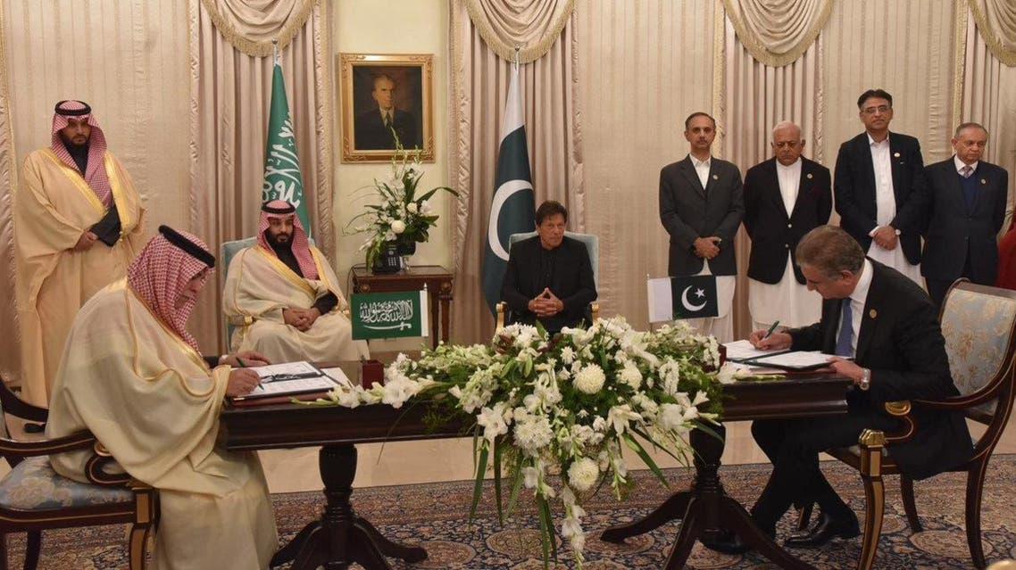 Saudi Arabia, Pakistan sign eight MoUs worth $20 bln across several sectors
