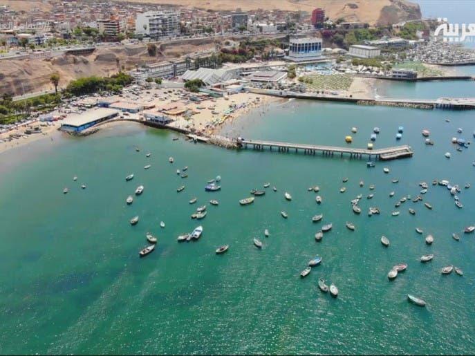 شواطئ البيرو تقع على 2000 كم من سواحل المحيط الهادي
