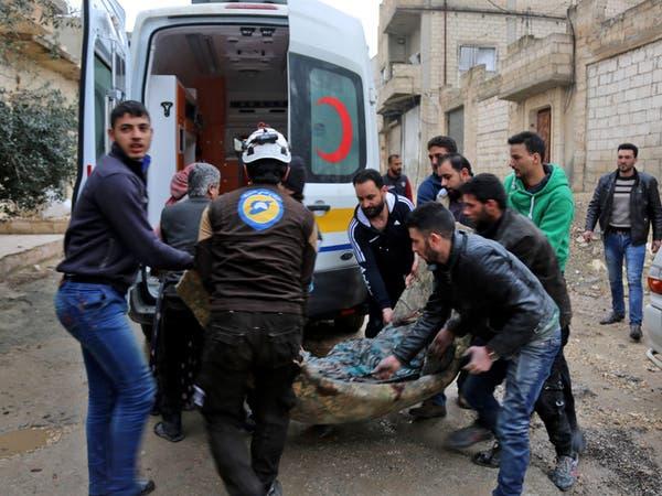 قصف النظام العشوائي على إدلب يوقع 18 قتيلا بين المدنيين
