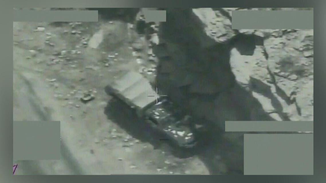 THUMBNAIL_ التحالف يوثق استهداف الميليشيات وتعزيزاتها في محافظة حجة
