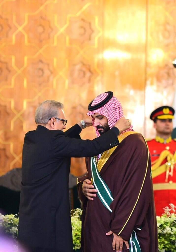 Saudi Crown Prince receives Pakistan's highest civilian honor 2