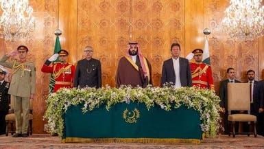 محمد بن سلمان: نأمل في شراكات جديدة مع باكستان مستقبلا