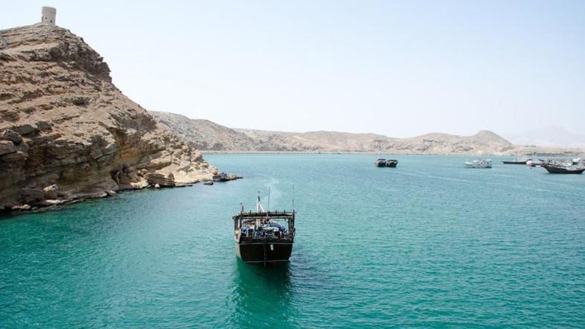 Fishing boat UAE water (Shutterstock)