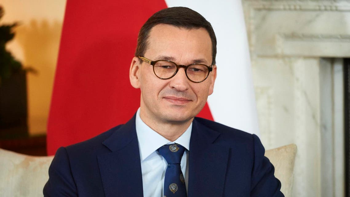 Polish Prime Minister Mateusz Morawiecki. (File photo: AP)
