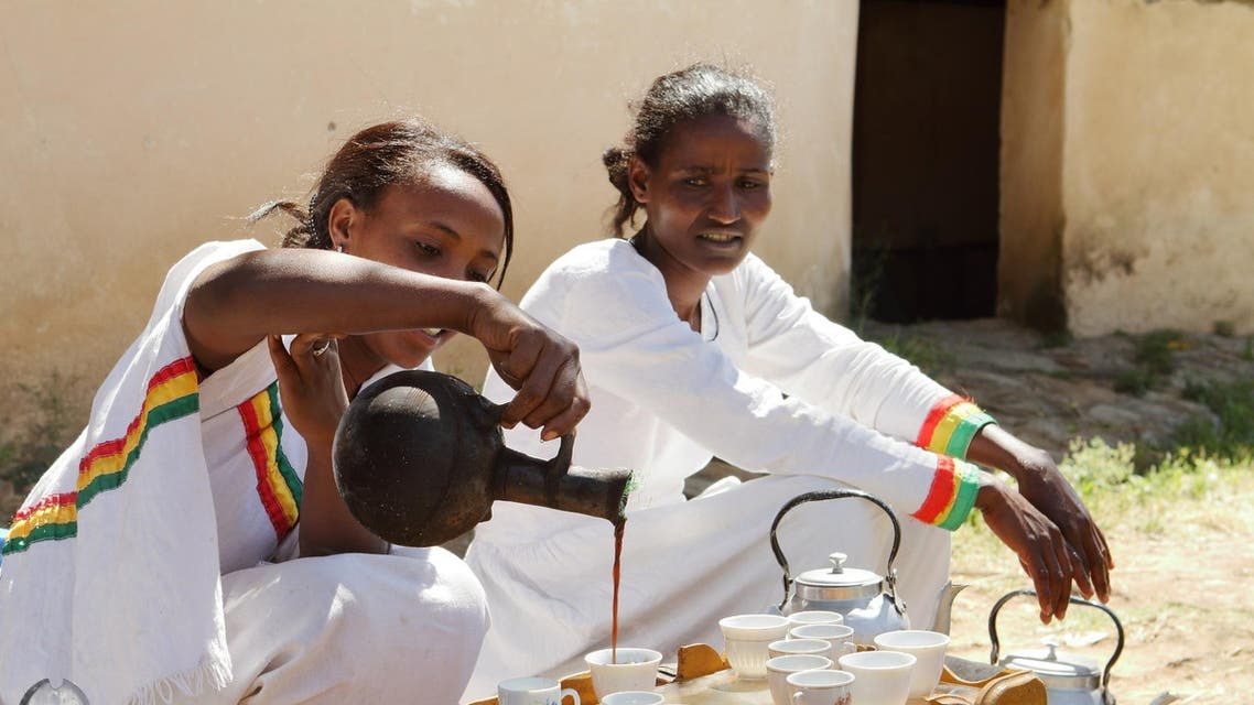 Nearly 40 Ethiopians – a third of them women – sift, roast and package prized Arabica beans for export to Europe under the Moyee brand. (File photo: Shutterstcok)
