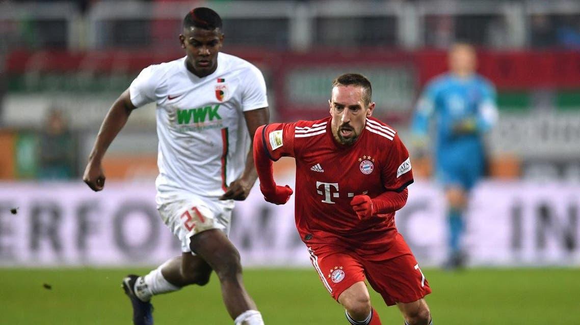 Bayern Munich's Franck Ribery (Reuters)