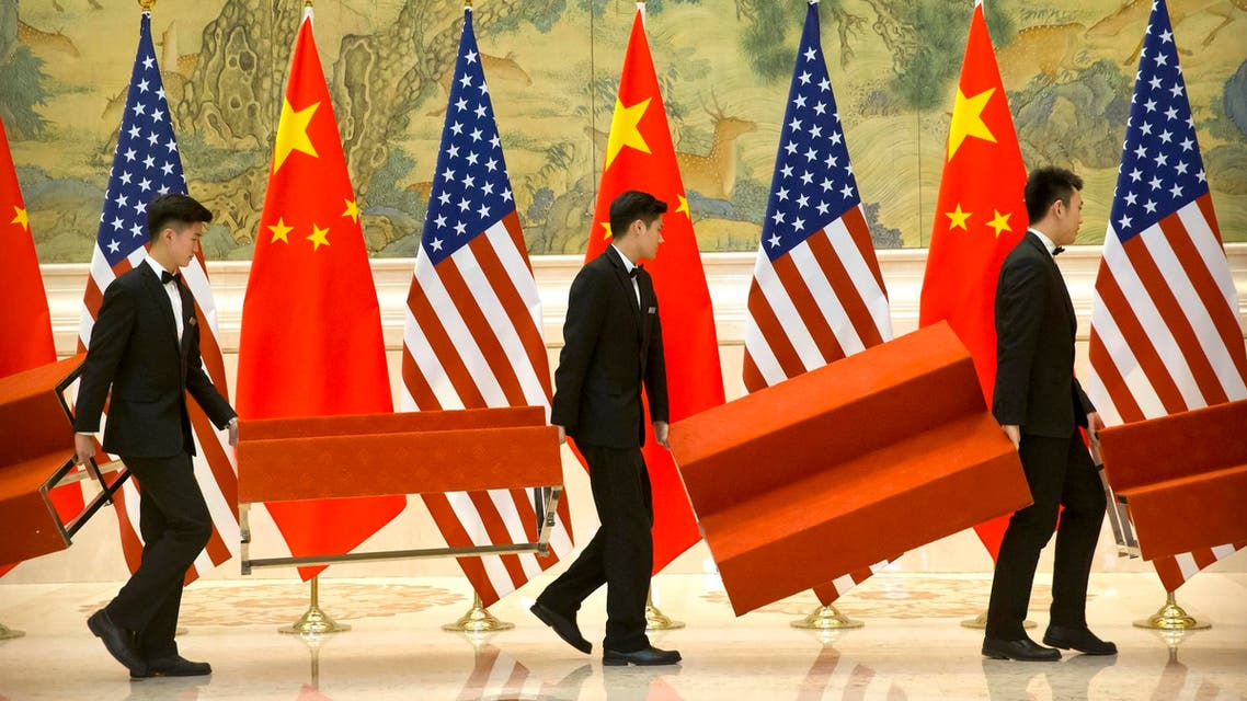A new round of talks between the United States and China to resolve their trade war will take place in Washington on Tuesday. (File photo: AFP)