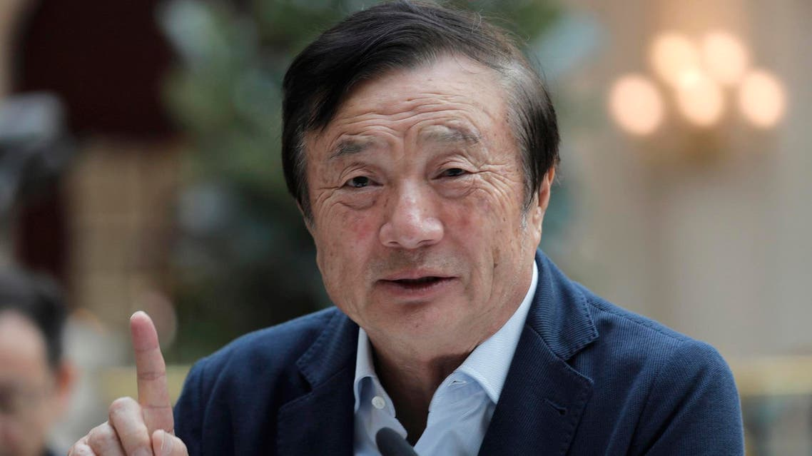 "The founder of Chinese telecom giant Huawei, Ren Zhengfei, said the world cannot do without Huawei and its ""more advanced"" technology. (File photo: AFP)"