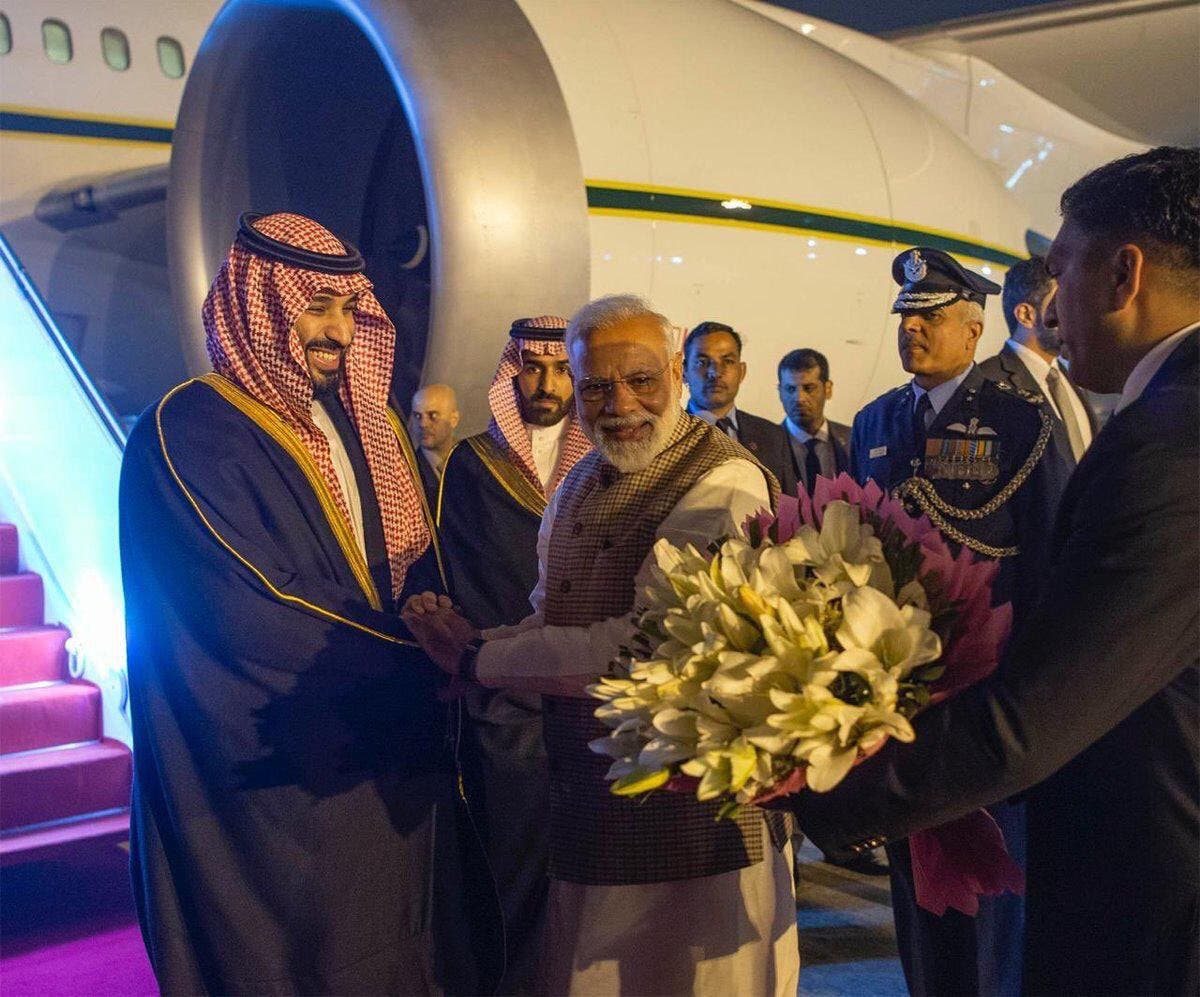 saudi crown prince india 2