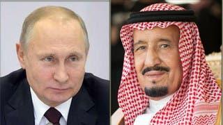 الملك سلمان وبوتين بحثا التعاون لضبط سوق الطاقة العالمي