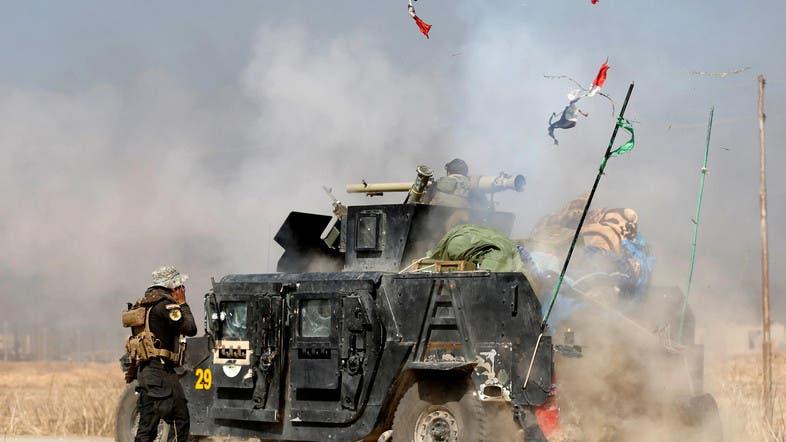 من المعارك مع داعش في 2016