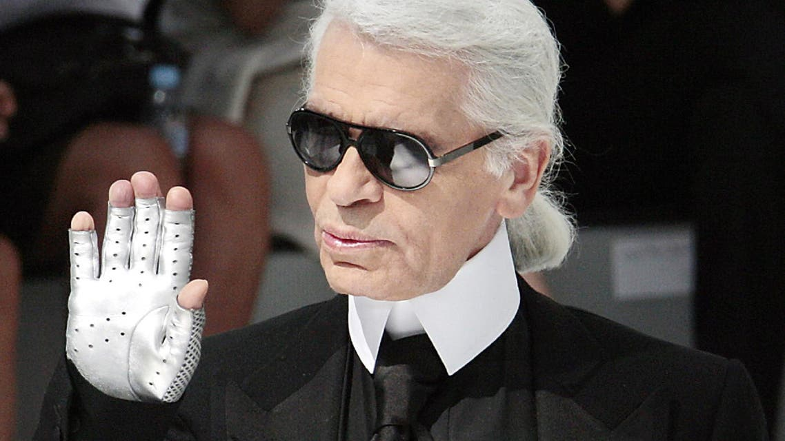 Karl Lagerfeld will be cremated without ceremony. (File photo: AFP)