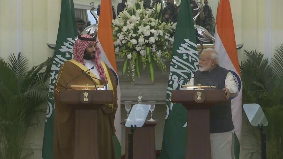 نتيجة بحث الصور عن السعودية+الهند+اتفاقات