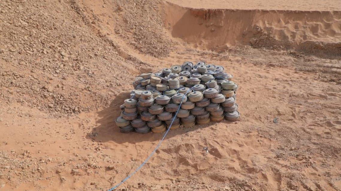 ألغام زرعها الحوثيون