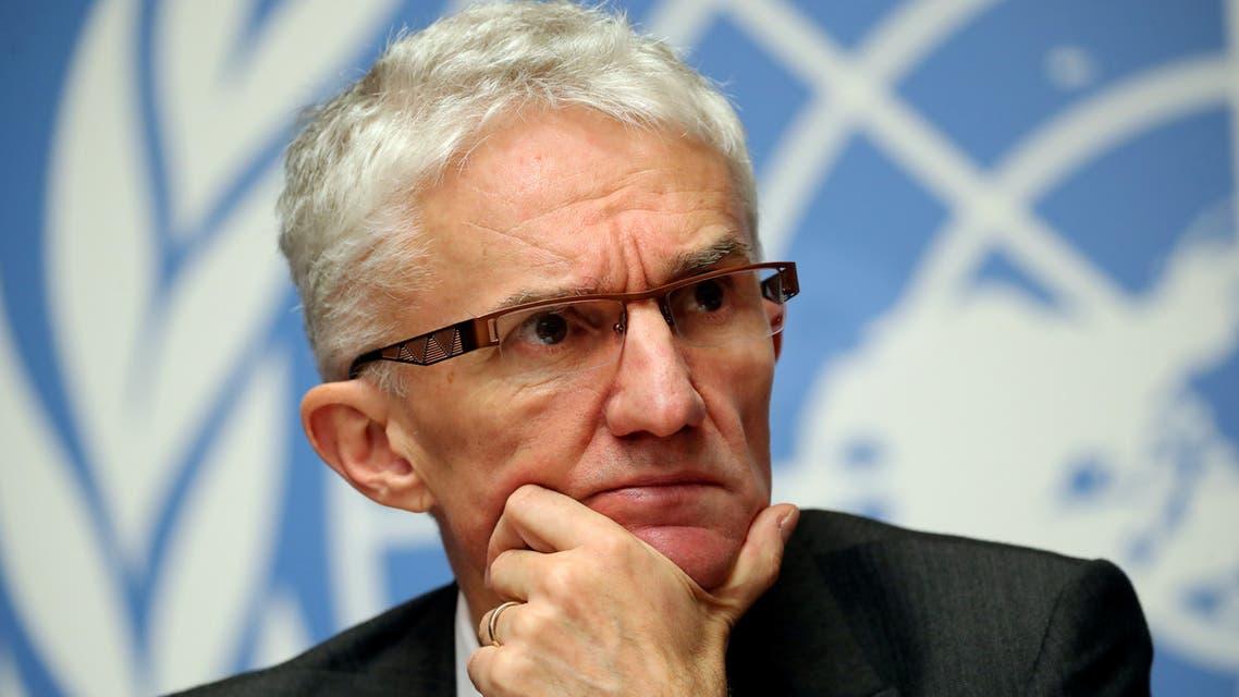 lowcock  وكيل الأمين العام للأمم المتحدة للشؤون الإنسانية ومنسقِ الإغاثة الطارئة مارك لوكوك