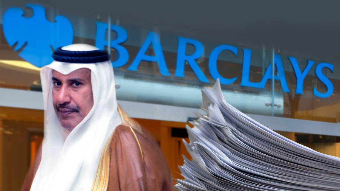 فضيحة باركليز.. شهادة ورسائل تفضح حمد بن جاسم