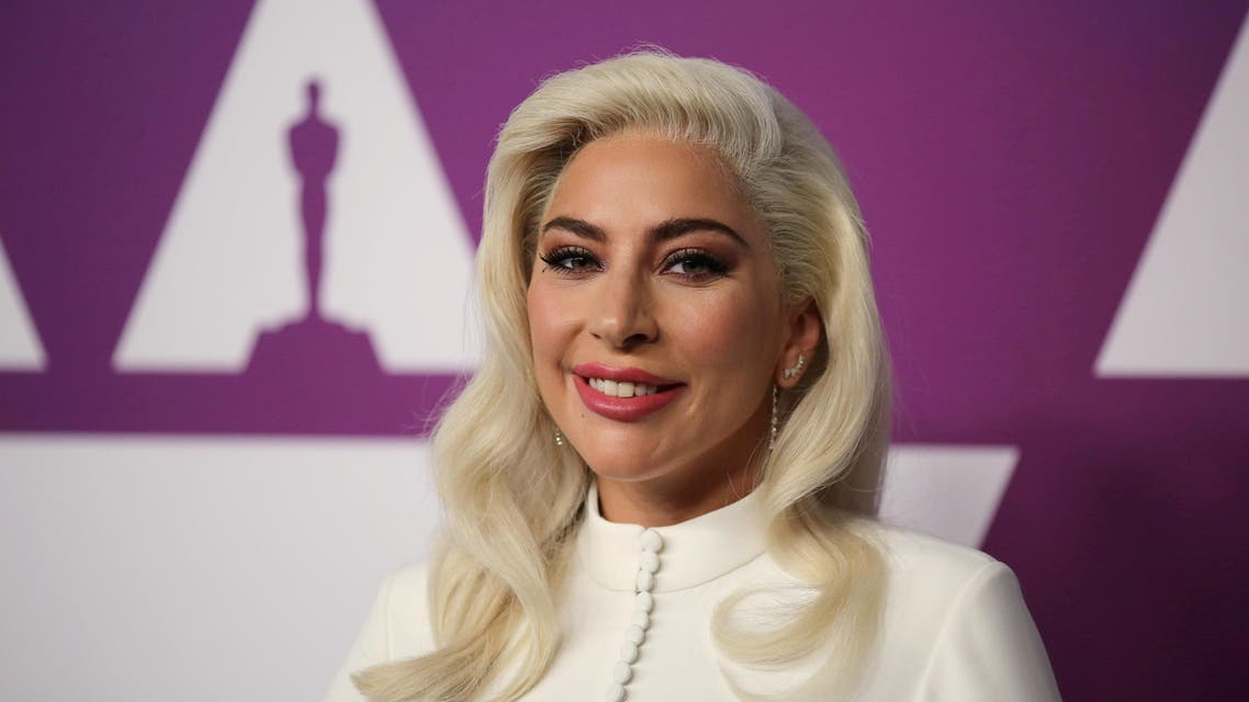 Lady Gaga attends the 91st Oscars Nominees Luncheon in Los Angeles on February 4, 2019. (Reuters)