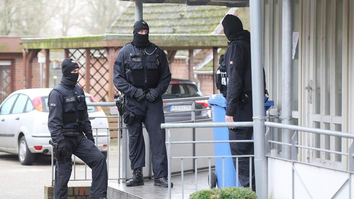 German police raid extremists (AP)